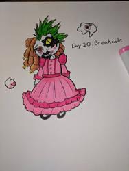 Inktober day 20 Breakable by Bunnygirle26