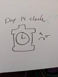 Day 14 Clock
