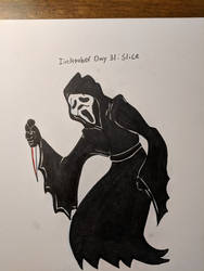 Inktober Day 31: Slice by Bunnygirle26
