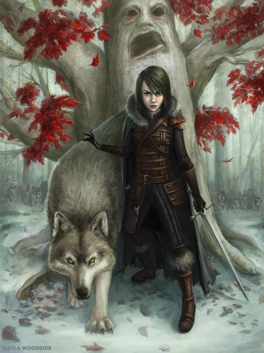 Arya by KaylaWoodside