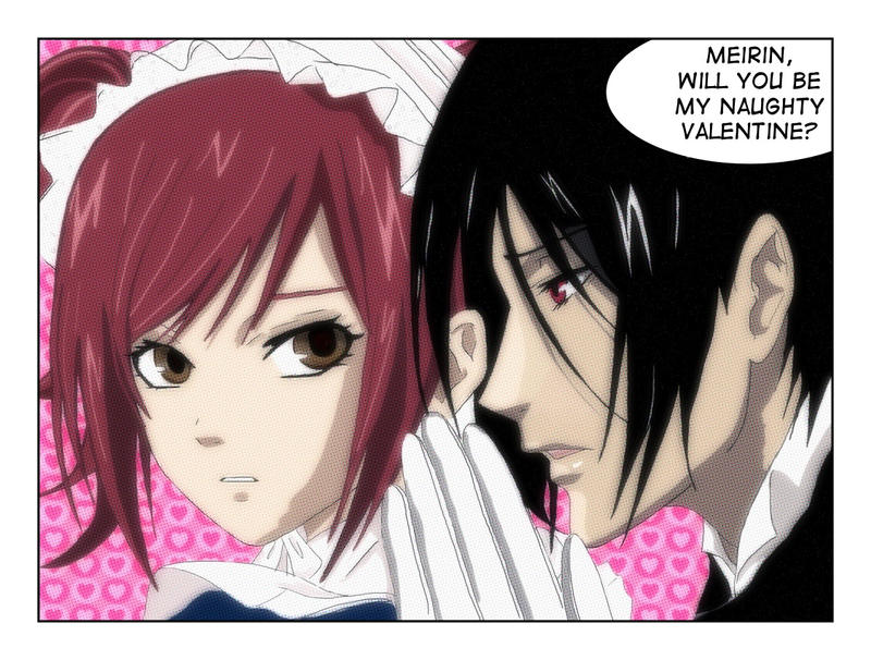 Her Butler Valentine with script by LibertyBella