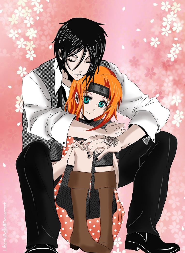 Sebastian and Hanako - Holding You Tight by LibertyBella