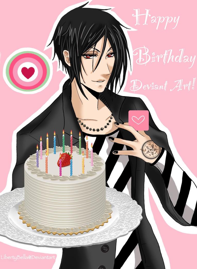 Поздравление на день рождения подруге аниме