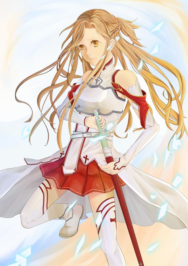 Asuna by hoharibo