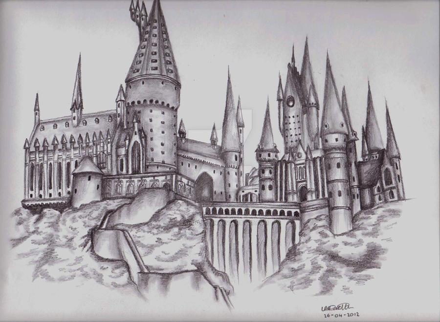 harry potter castle coloring pages - photo#8