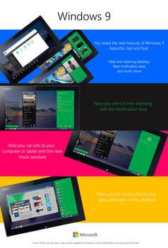 Windows 9 promo features