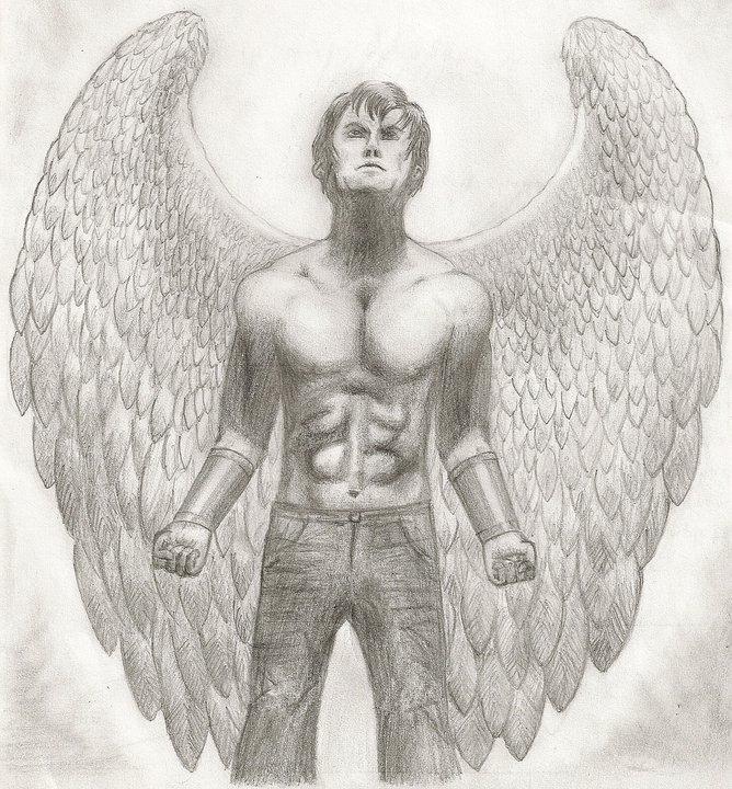 Fallen Angel by TheWuzzy