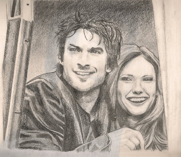 Ian and Nina by TheWuzzy