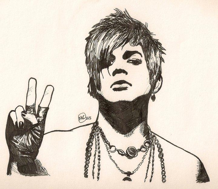 Adam Lambert by TheWuzzy