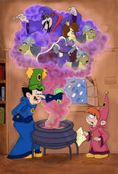 Gargamel's New Job (Painted Version)