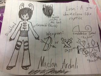 Maelon by SerenadeFlower2