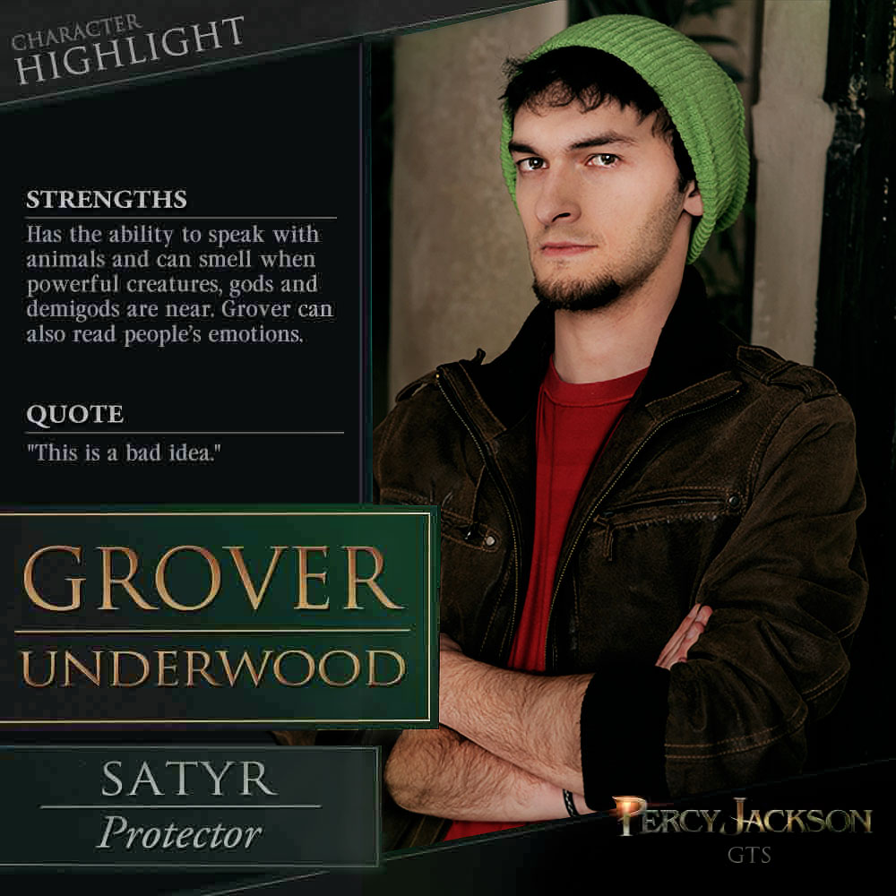 Grover Underwood Cosplay By Sahramorgan On Deviantart
