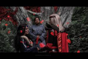 Rhaegar and Lyanna secret wedding by sahramorgan