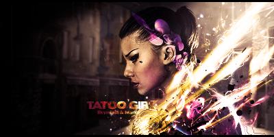 Tatoo girl by Marko-Saaresto