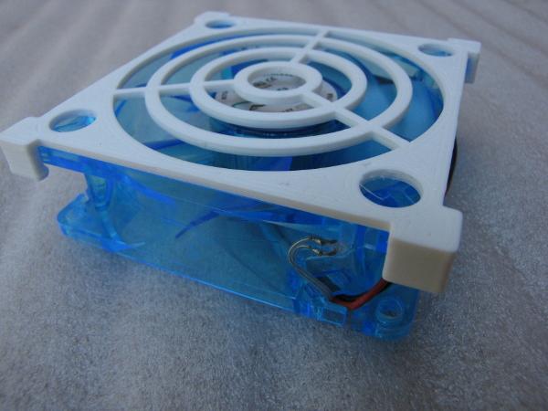 Custom fan grille by goldrc4