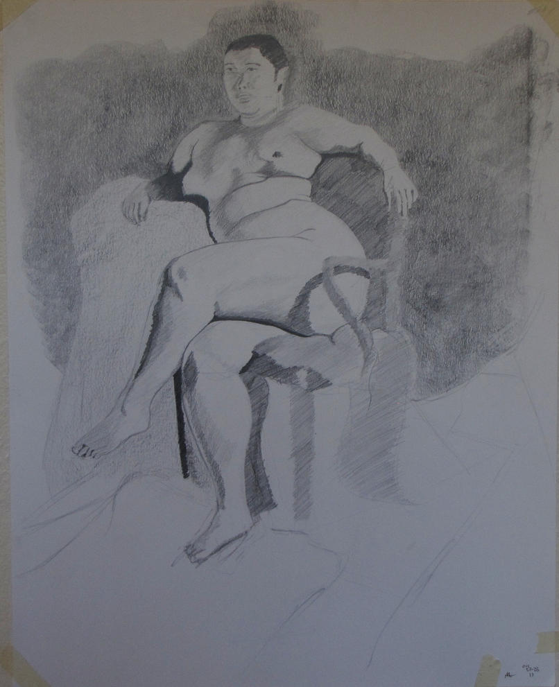 Graphite Drawing 04/27 by goldrc4