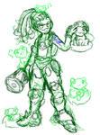 Overwatch- Lucio + Frogs (WIP)