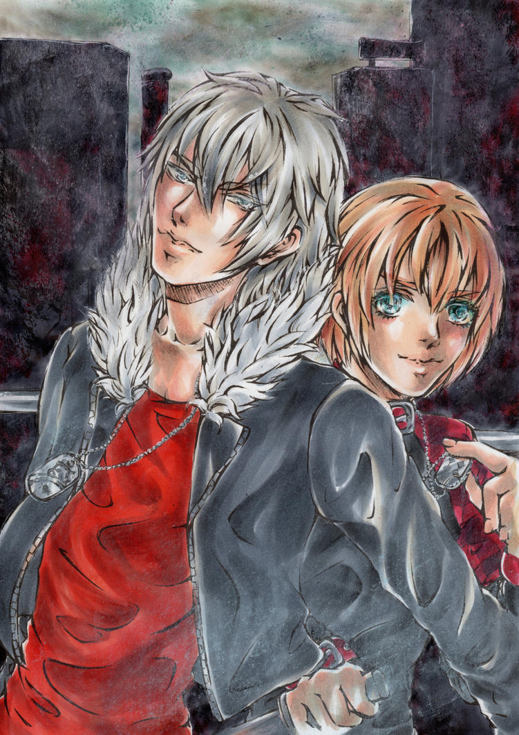 Everything dyed in red here - Togainu no chi by Moyashiiiii