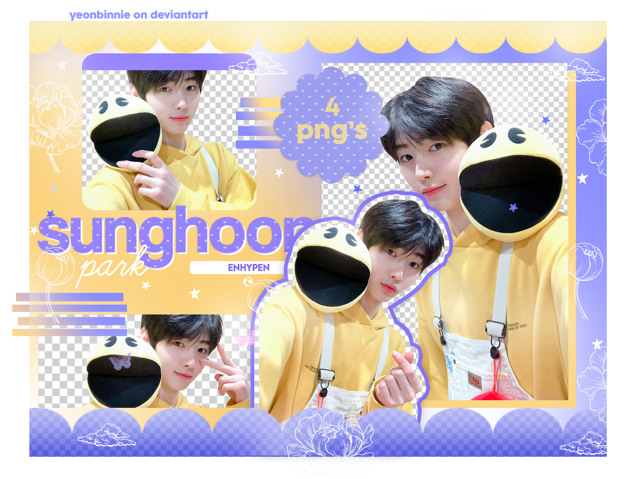 Pack Png 011 Park Sunghoon Enhypen By Yeonbinnie On Deviantart