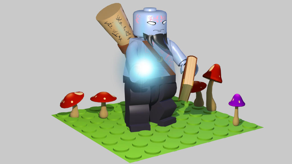 Lego League Of Legends : Ryze by Spikeenick on DeviantArt