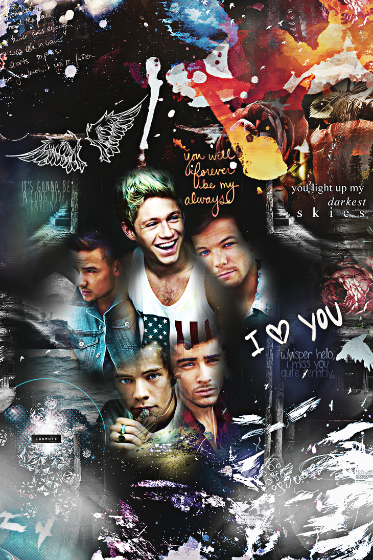 One direction Iphone 4 wallpaper by ddlybrningsls on ...