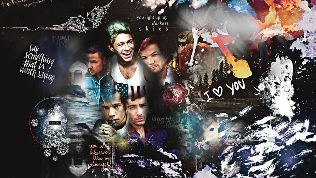 One Direction Wallpaper By Ddlybrningsls