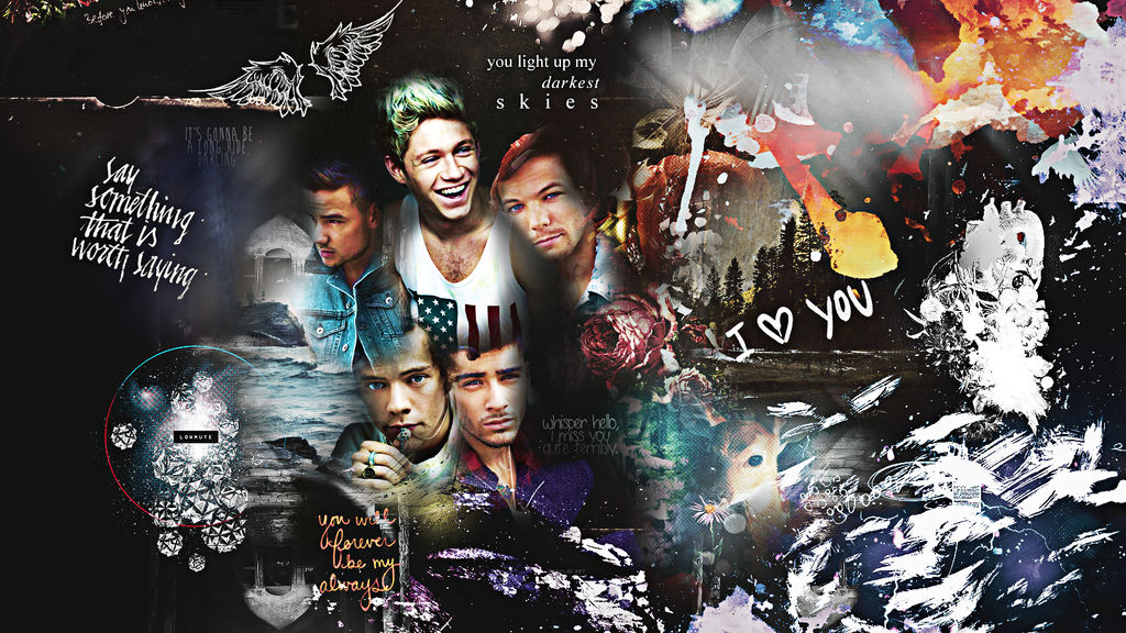 one direction wallpaper by ddlybrningsls ...
