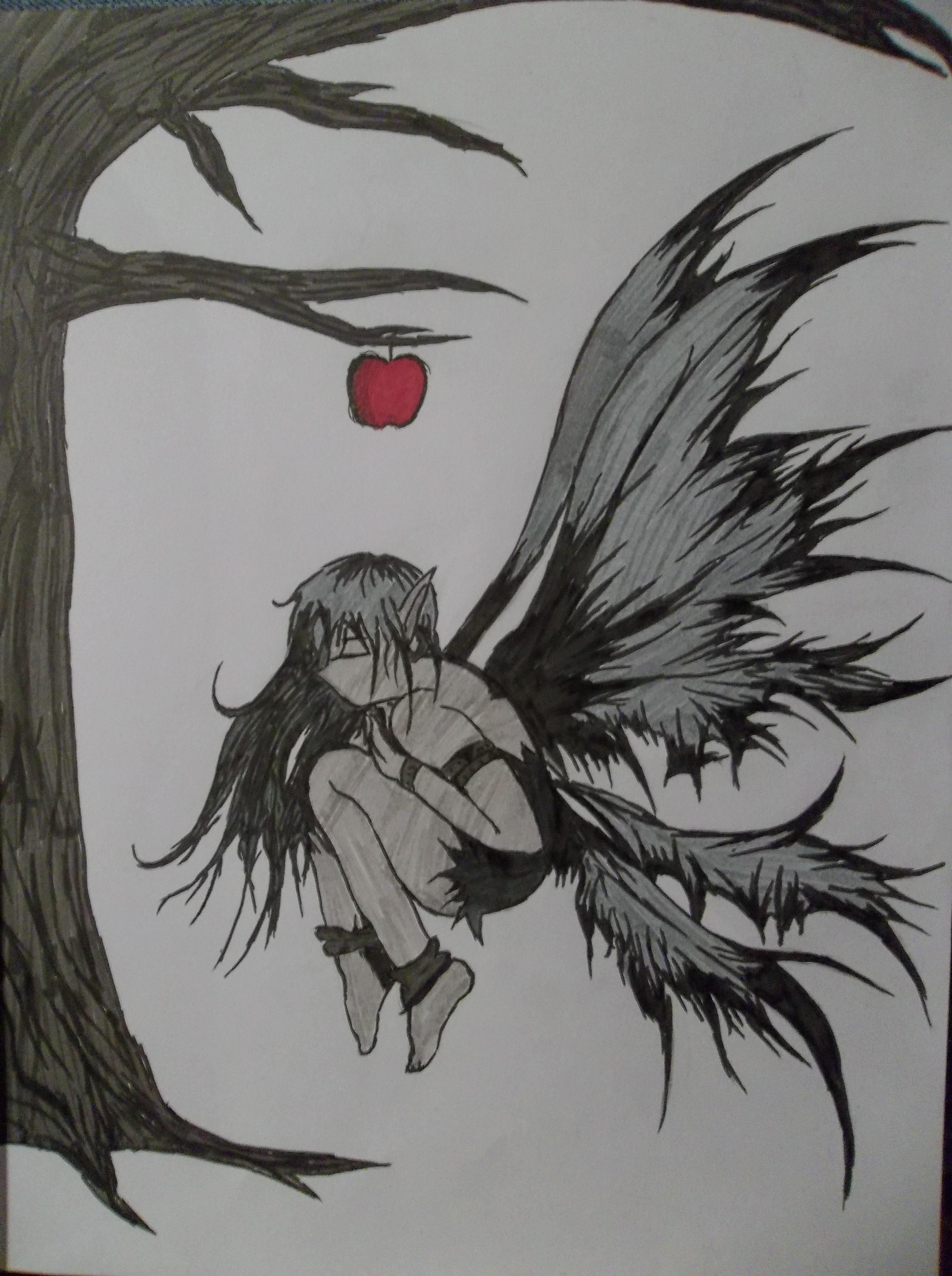 A Dark Fairy by A--Dark-Angel on DeviantArt