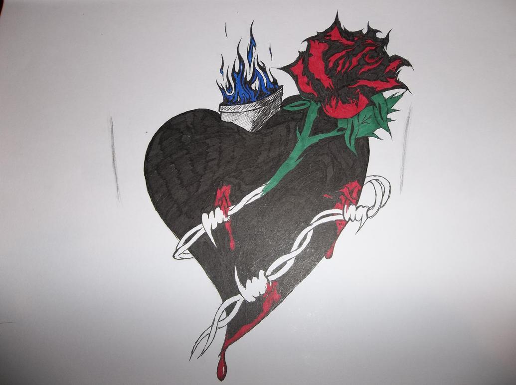 A Tortured Heart Can Still Burn Bright by A--Dark-Angel on DeviantArt