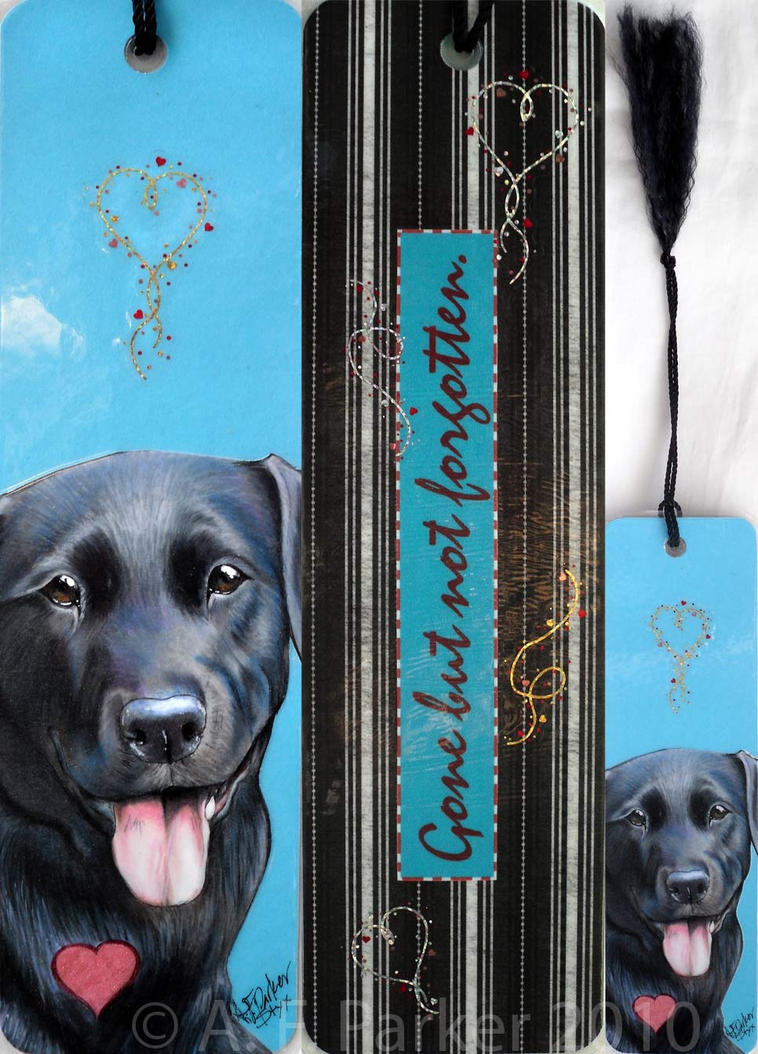 Love of a Labrador - Bookmark by styx-leagon