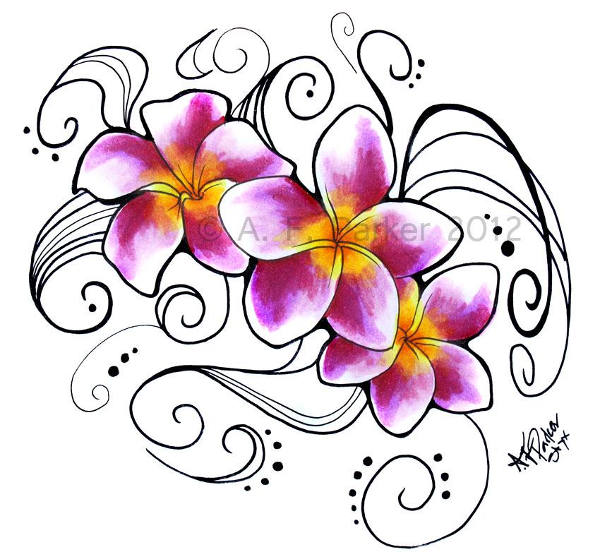 Plumeria Flower Tattoo: Plumeria Flower Tattoo Designs, Nyc Tattoo Shops Bang Bang