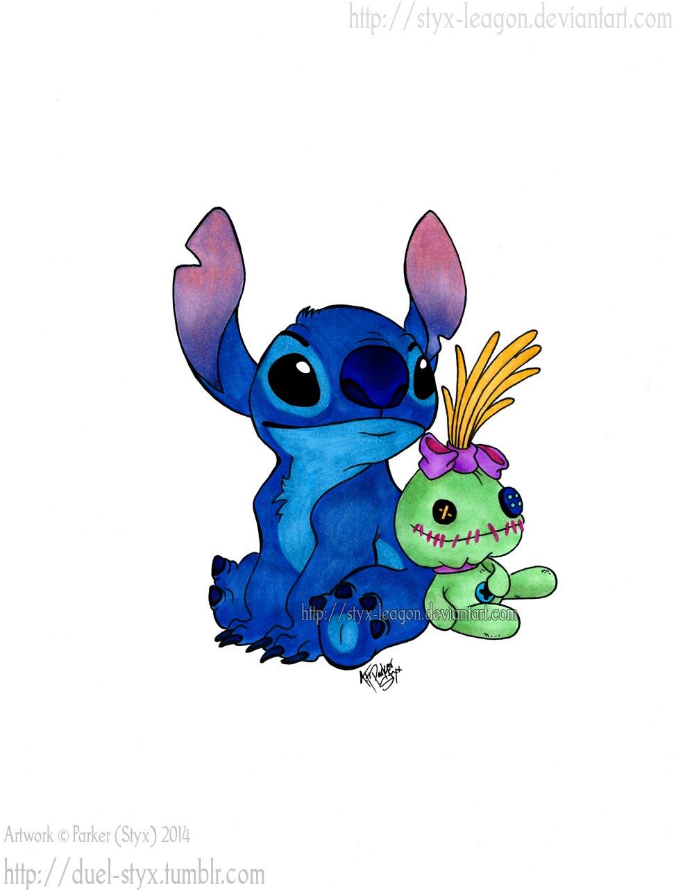 Stitch And Scrump By Styx Leagon On Deviantart