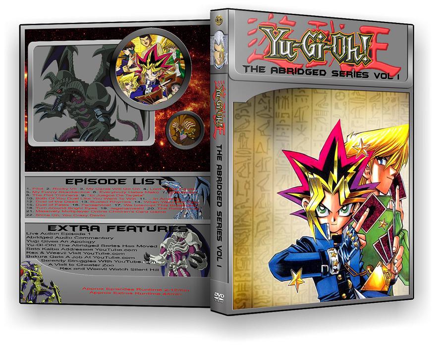 YuGiOh Abridged Series Dvd by Gatnne on DeviantArt