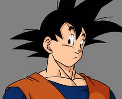 Goku by Gatnne