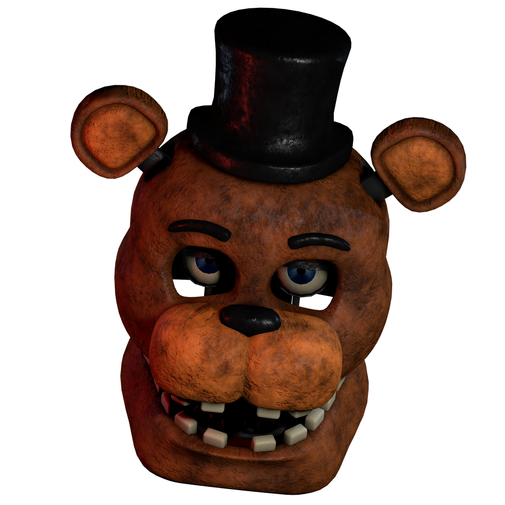 Withered Freddy V1 Head Render By 3D-Darlin On DeviantArt