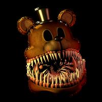 Twisted Freddy v2 (Head wip) by 3D-Darlin