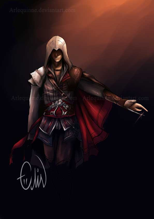 Assassin's Creed II by Arlequinne