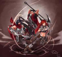 League of Legends - Blood for Noxus by ElinTan