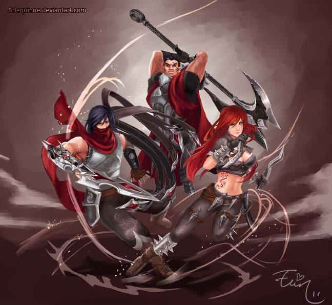 League of Legends - Blood for Noxus by ElinTan on DeviantArt