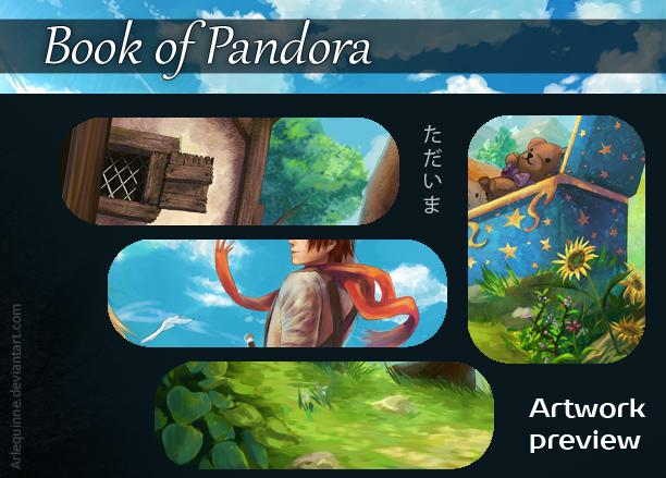 Book of Pandora - Tadaima - preview by Arlequinne
