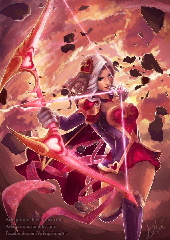 Heartseeker Ashe by Arlequinne