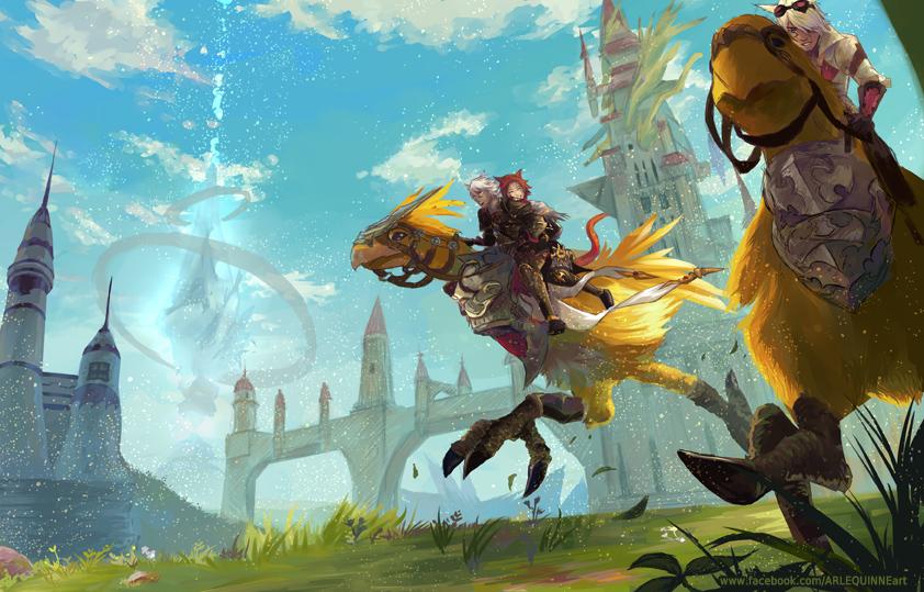 Final Fantasy 14 Heavensward by ElinTan