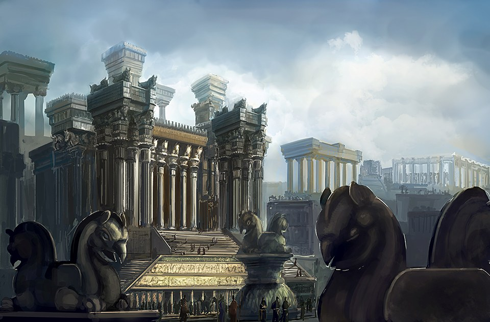 the discovery and reconstruction of the ancient city of persepolis Persepolis: the audience hall of darius as pārsa and was an important city of the ancient reconstruction of the apādana, persepolis.