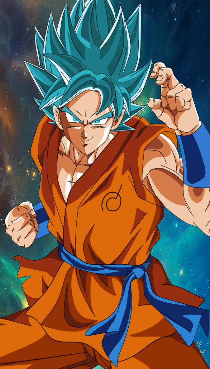 Dragon Ball Super Goku Wallpaper Smarthphone By Lucario Strike On