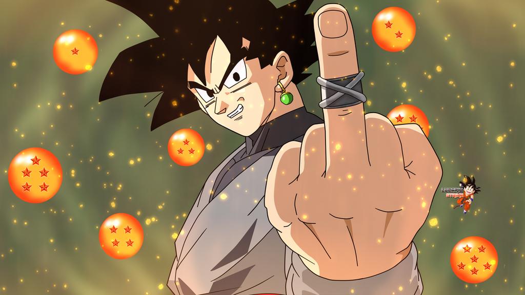 Black Goku Wallpaper By Lucario Strike