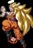 Son Goku Ssj3 by lucario-strike