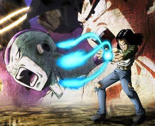 Dragon ball super - Numero 17 by lucario-strike