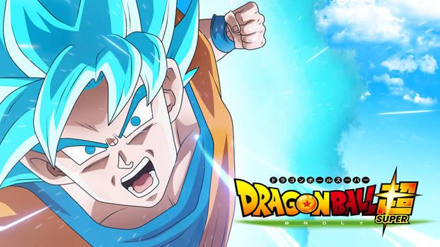 Goku Ssjblue Broly Movie 2018