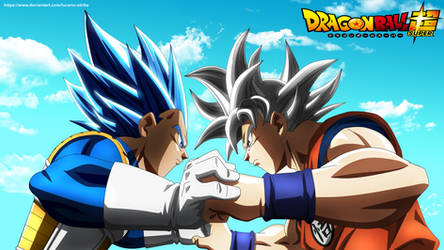 Final Dragon Ball Super | Goku vs Vegeta by lucario-strike