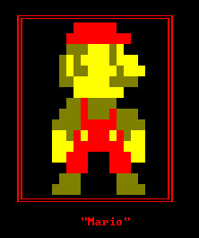 8 bit Mario -DOS Style- by guialex